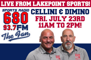 Cellini & Dimino Live At Lakepoint Sports – July 23, 11am to 2pm