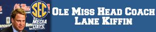 lane kiffin, sec media days, sec, ole miss, 6580 the fan