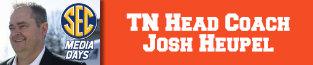 tennessee volunteers, josh heopel, sec football, 680 the fan