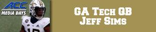 jeff sims, qb ga tech, acc football, acc, 680 the fan