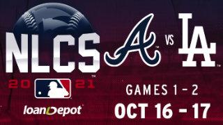 ATL vs. LA: The Battle continues in the NLCS!