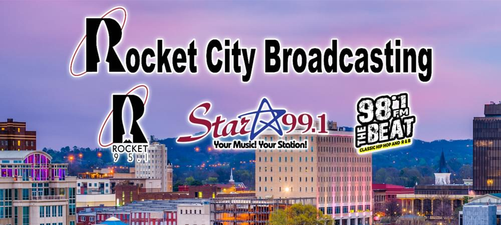 Rocket City Broadcasting is a 360-degree Media Company with Radio, Digital, Television, Email