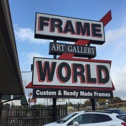 $100 gift card to Frame World Art Gallery