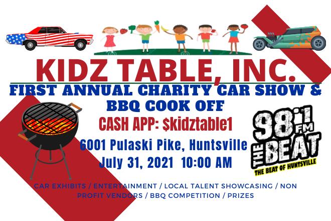 Kidz Table, Inc. Charity Car Show