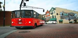 FREE RIDES ON THE MAINLINE TROLLEY!