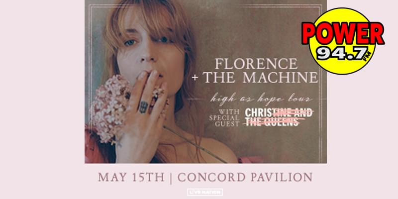 Listen to Win Florence+ The Machine Tickets