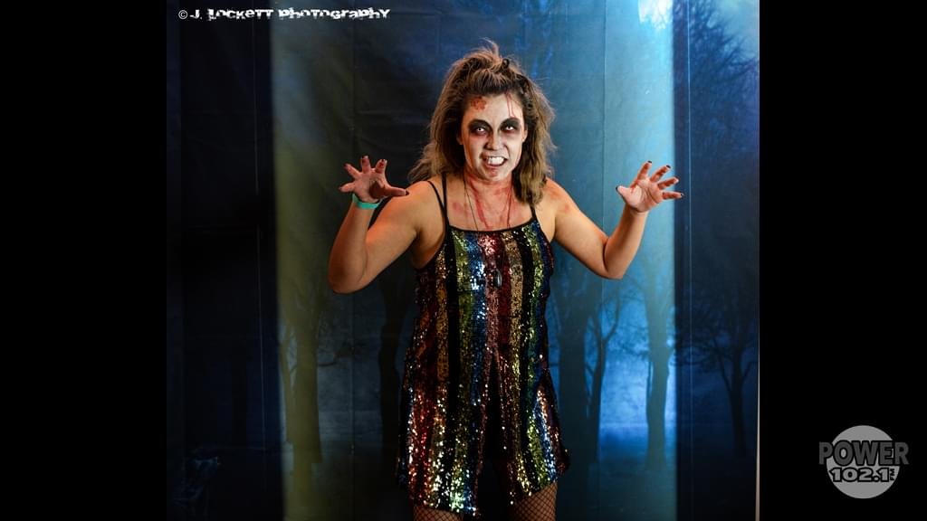 Power 102.1 KCEZ's Zombie Silent Disco Halloween Party at the El Rey Theatre in downtown Chico California October 31st 2019