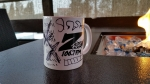 Okay, now these custom Z-Rock Doodle Mugs just seem like throwing spaghetti at the wall!