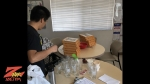 Mad Dash Pizza delivered during Z-Rock Munch Box at South Chico Davita Dialysis Center