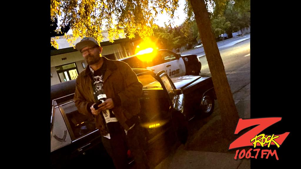 Tim Buc Moore gets the police called on him at Wake the Buc Up 10/18/18 in front of Tender Loving Coffee in Chico