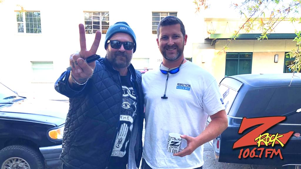 Tim Buc Moore's live morning show tour of Butte County, Wake the Buc Up with listener at Tender Loving Coffee in Chico October 18th 2018