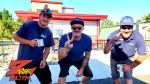Tim Buc Moore with Buc Heads at Code 3 Coffee in North Chico for Wake the Buc Up 2019 for 106.7 Z-Rock