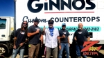 Tim Buc Moore with winners from Ginno's Custom Countertops for the Z-Rock Munch Box