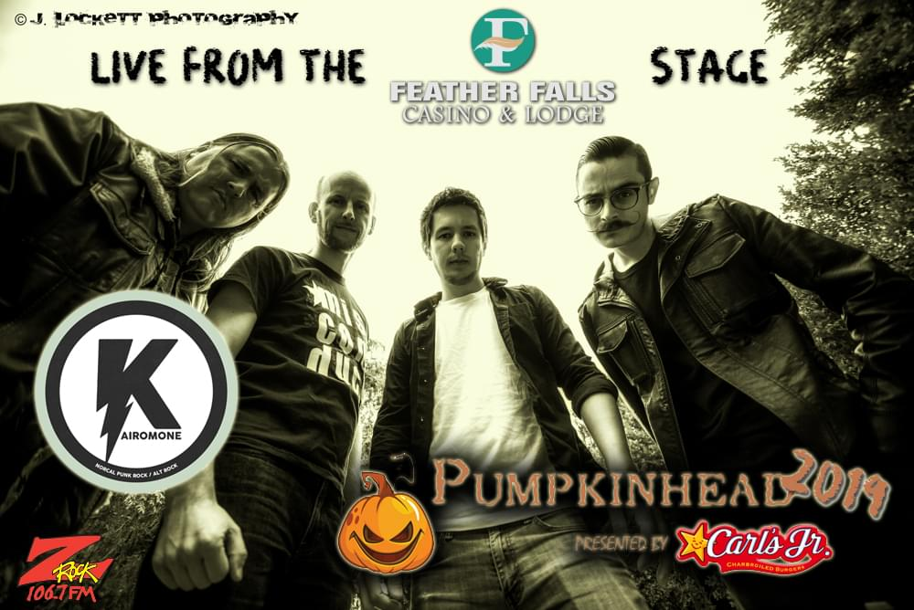 Kairomone headlines Pumpkinhead 2019 at Carl's Jr in Chico California October 19th 2019
