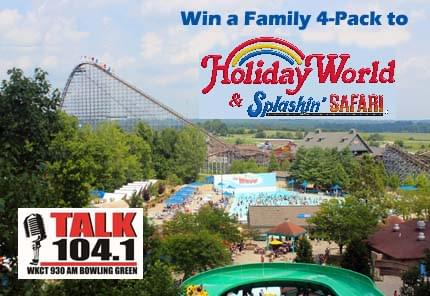 Holiday World Giveaway