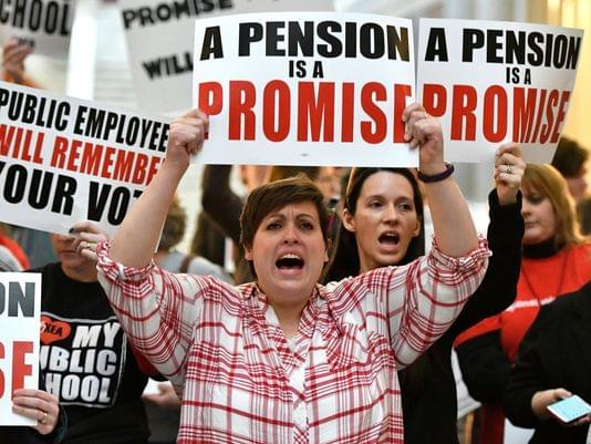 Study: State worker pension systems in best shape since 2008
