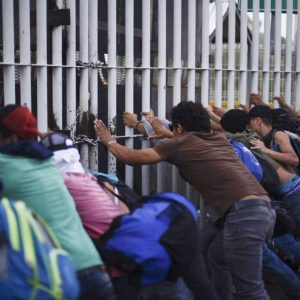 Migrant Caravan: Honduran Man Dies In Border Clash With Police