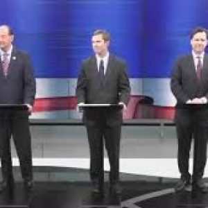 In second debate, Democratic rivals vying for governor focus attacks on Bevin