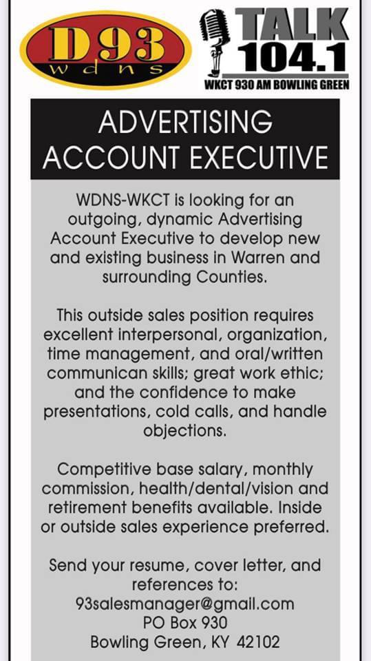 Advertising/Sales