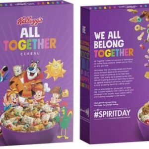 'Start Your Day With Maximum Gay:' Kellogg's Launches LGBT Cereal