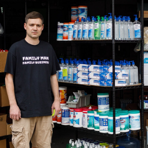 He has 17,700 bottles of hand sanitizer and nowhere to sell them