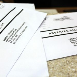 Some KY ballots were processed with the wrong date. Post office says they fixed it.