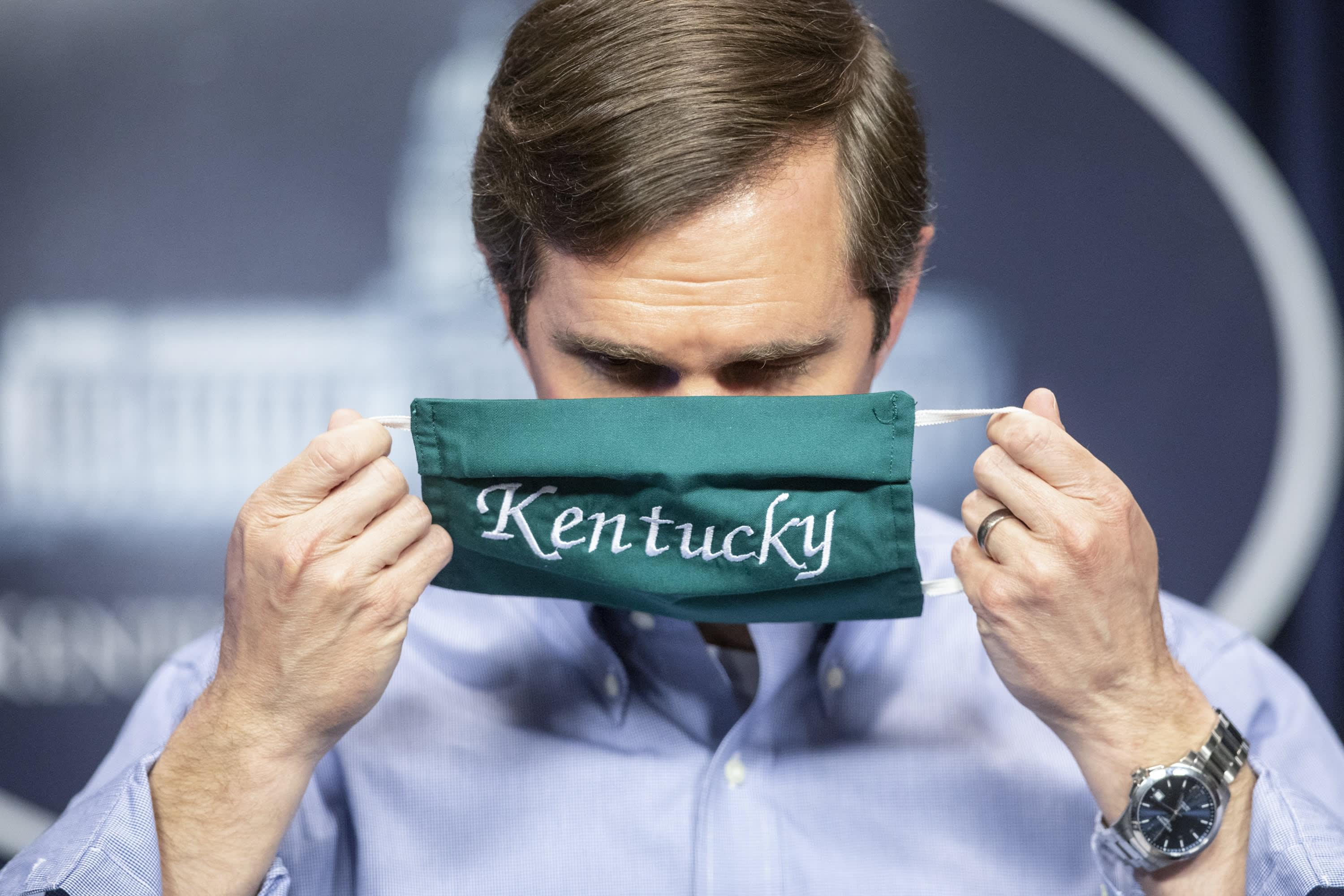 As COVID-19 surges, Gov. Andy Beshear reluctant to again impose masks. What's changed?