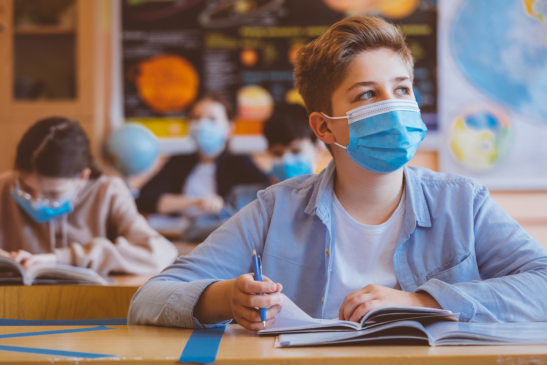Which Kentucky school districts are requiring masks? The latest on school mask policies