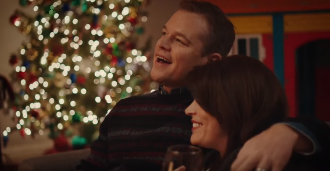 BEST CHRISTMAS EVER WITH MATT DAMON ON SNL WILL HAVE YOU ROLLIN IN LAUGHS!