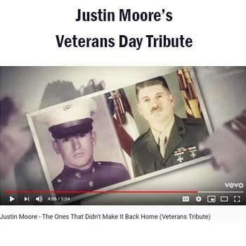 Justin moore video blog