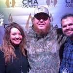 """Luke Combs Talks To Cash and Carly About Last Year's Patriotic Festival """"It Was The Biggest Show I've Ever Played"""" {LISTEN}"""