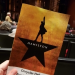 """""""Finally In The Room Where It Happens!"""" """"Hamilton"""" Takes Over Chrysler Hall. ~ CASH {Pics}"""