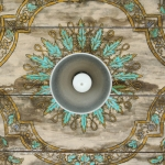 {PIC} Would You Try This New Design trend?? Wallpaper On The Ceiling~Carly!