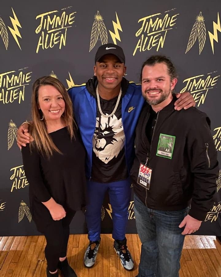 Jimmie Allen Talked with Cash & Carly About Jamming with Brad Paisley, Tim McGraw, and Darius Rucker! {Listen}