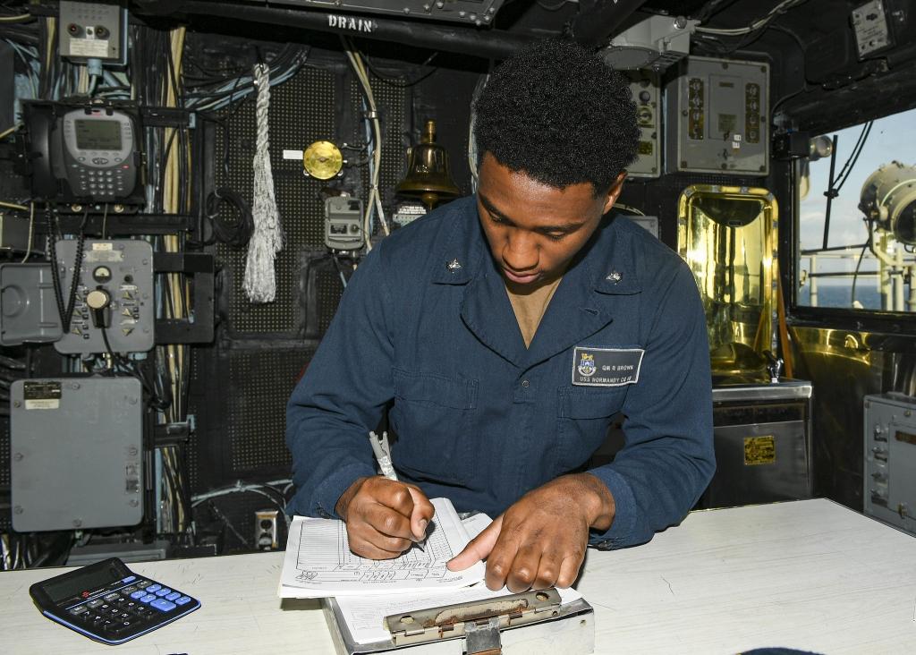 Portsmouth Sailor serves aboard U.S. Navy warship