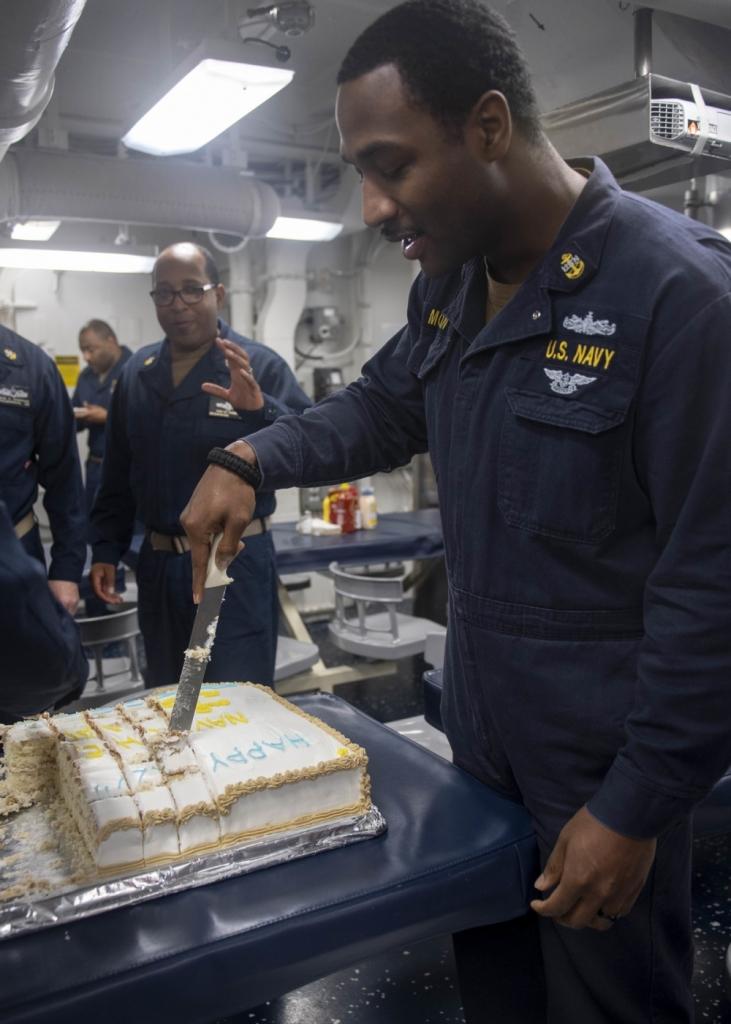 Rafael Peralta Celebrates the Chief's 127 birthday