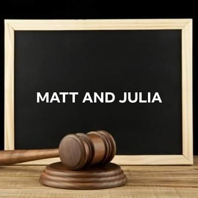 matt and julia