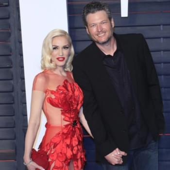 Blake Shelton Says He's 'Blown Away' Working With Gwen Stefani in the Studio [Watch]