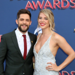 """Thomas Rhett Shares Candid Photo of Wife Covered in Spit Up """"You Are My Hero"""" {PIC}"""
