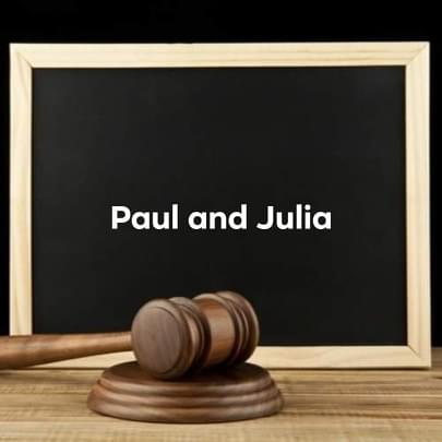paul and julia