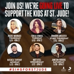 Sing for St. Jude Sessions with Matt Stell, Ryan Hurd, Mitchell Tenpenny and More!