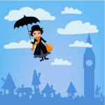 Mary Poppins Visits Cash Warren's House. ~ CASH {Listen}