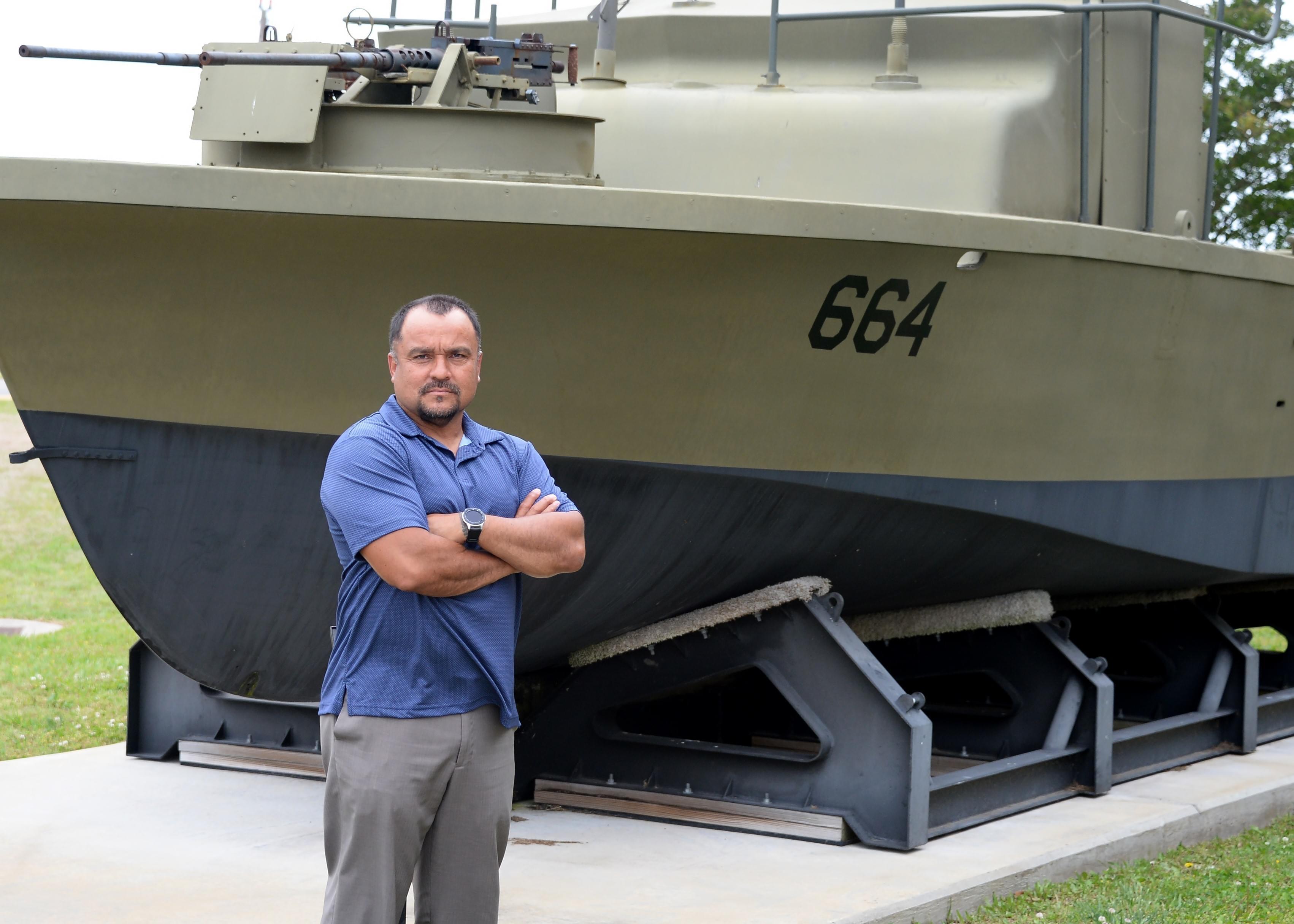 NECC Boat Type Desk Officer Receives Award