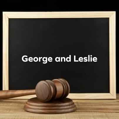 george and leslie