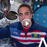"""Astronauts at International Space Station Release Music Video Singing Travis Tritt's """"It's a Great Day To Be Alive"""""""