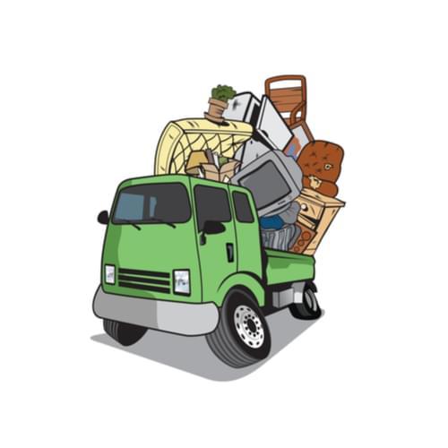 truck hauling stuff