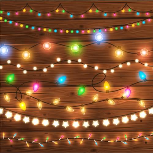 Christmas lights short