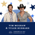 Tim McGraw & FGL's Tyler Hubbard To Perform At Inauguration TV Special Hosted by Tom Hanks