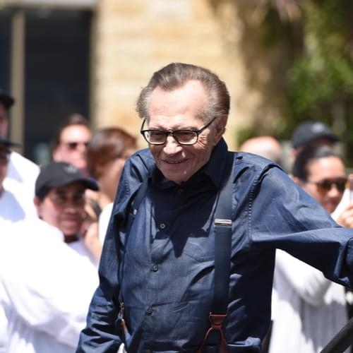 Legendary Television Host Larry King Has Died, He Was 87.