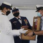 Coast Guard Cutter Harriet Lane Welcomes New Commanding Officer
